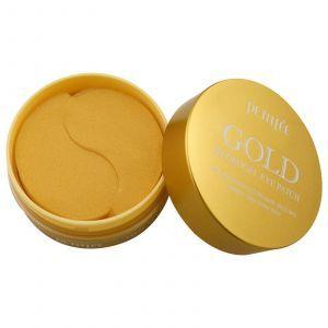 Гидро-гелевый патч с золотом для глаз, Goldt Patch, Petitfee, 60 шт
