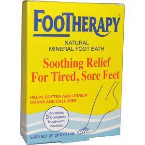 Соли для ванн (для ног), Queen Helene, 28 г 3 пакеты