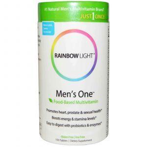 Витамины для мужчин, Rainbow Light, 150 таблеток