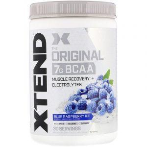 BCAA, Синяя Малина, XTend, Scivation, 420 гр.