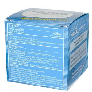 Мягкие накладки, Acne Control, Stridex, 55 шт