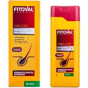Шампунь Фитовал, Fitoval formula, Krka, формула против выпадения волос, 200 мл