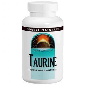 Таурин, Source Naturals, 1,000 мг, 120 капсул
