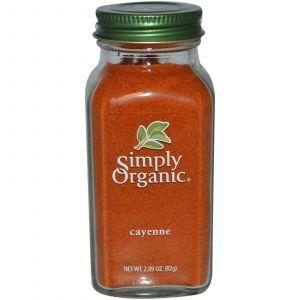Кайенский перец, Cayenne, Simply Organic, 82 г