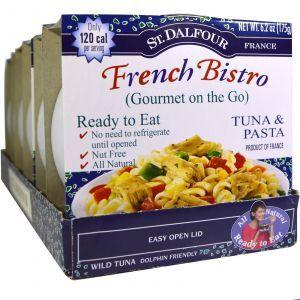 Французское бистро, тунец и макароны,  French Bistro, Tuna & Pasta, St. Dalfour, 175 г