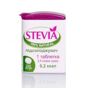 Стевия,  Stevia FLIP-TOP, КРАСОТА И ЗДОРОВЬЕ, 200 таблеток