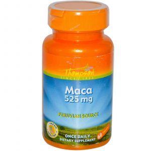 Мака, Thompson, 525 мг, 60 капсул