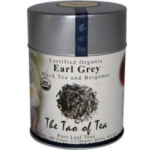 Черный чай с бергамотом, Эрл Грей, Black Tea and Bergamot, The Tao of Tea, органик, 100 г