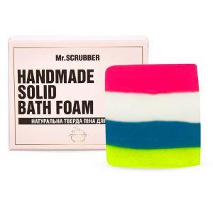 Твердая пена для ванн Жевательная резинка, Handmade Solid Bath Foam, Mr. Scrubber, в подарочной коробке, 100 г
