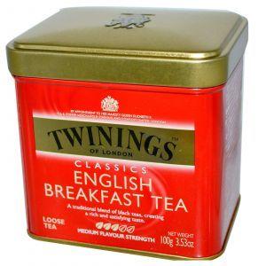Листовой чай, «Английский завтрак», Classics Loose Tea, Twinings, 100 г