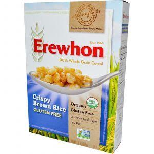 Хрустящий коричневый рис, Brown Rice, Erewhon, 284 г