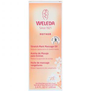 Масло для профилактики растяжек, Weleda, 100 мл
